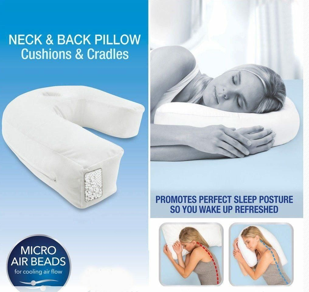 Bestsleep Ergonomic Side Sleeper Pillow Yourbestmart Side Sleeper Pillow Pillows Back Pillow