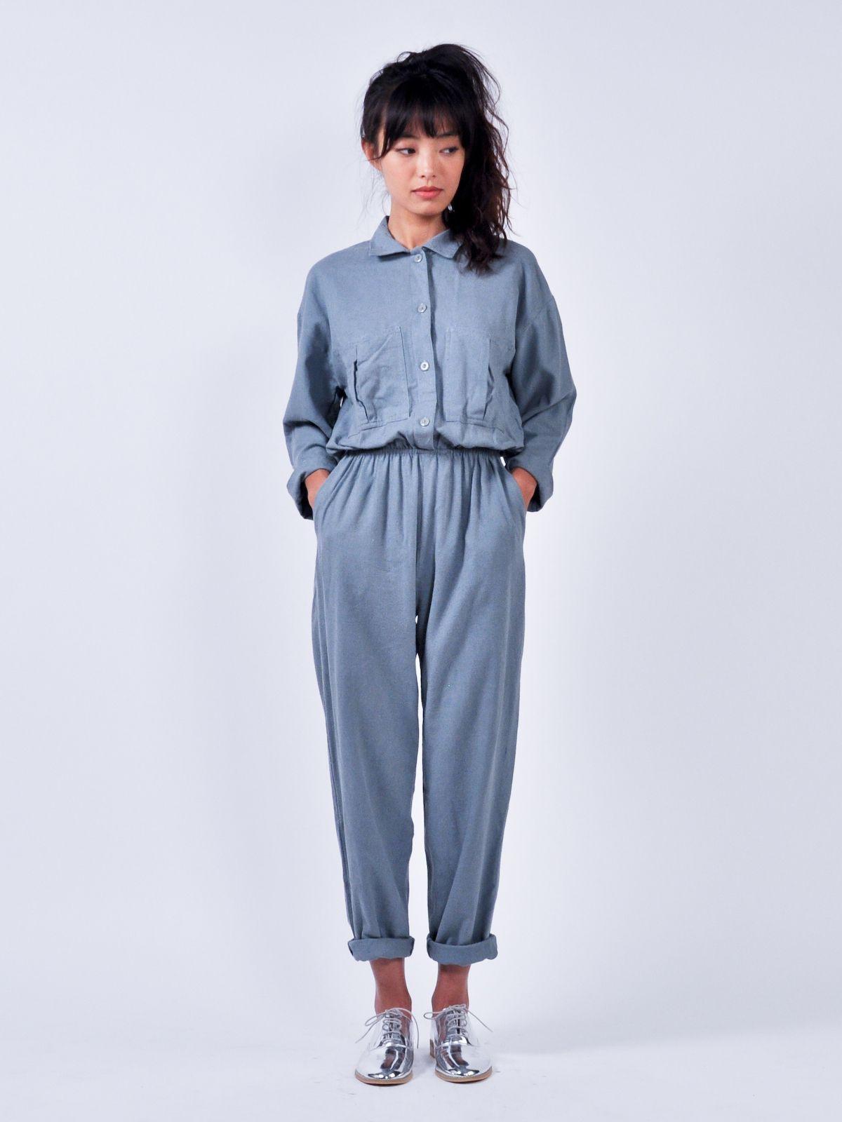249d77033961 Raw-silk jumpsuit on R29Shops!