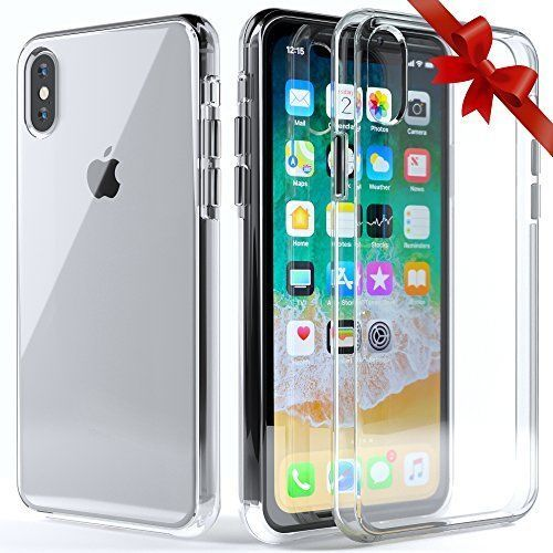 big sale 9efd0 c7df1 iPhone X Case Ultra Slim Scratch Resistant Protective Cover Screen ...