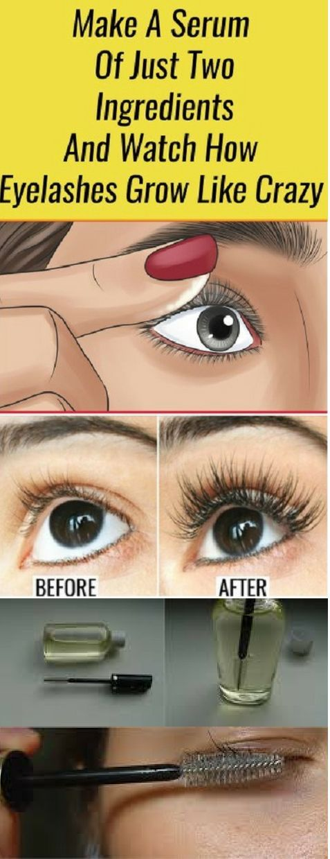 Grow Your Eyelashes In Just 3 Days With Just A Few ...