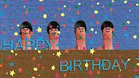 Happy Birthday Sung By Thumbs Let Me Tell You Thumb Sing The Thumbs Happy Birthday Ahnlichkeiten Happy Birthday Song Happy Birthday The Beatles