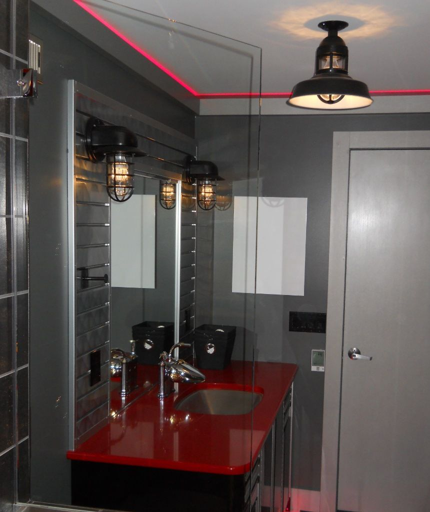 A look at 15 chic industrial style bathroom designs stylish small a look at 15 chic industrial style bathroom designs stylish small space industrial bathroom design aloadofball Choice Image