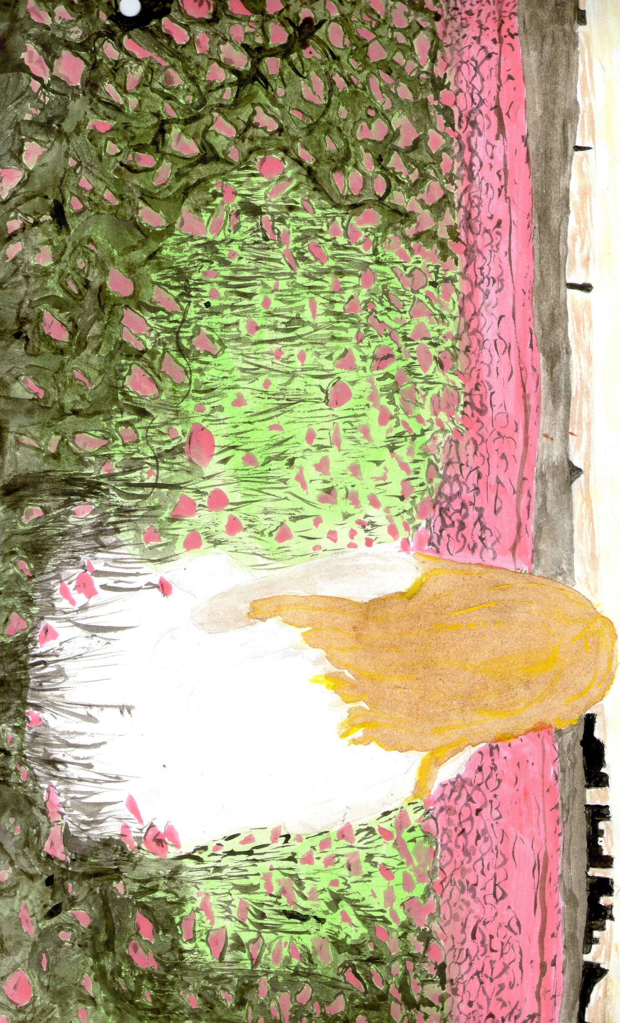 Acuarelas-papel-rosas