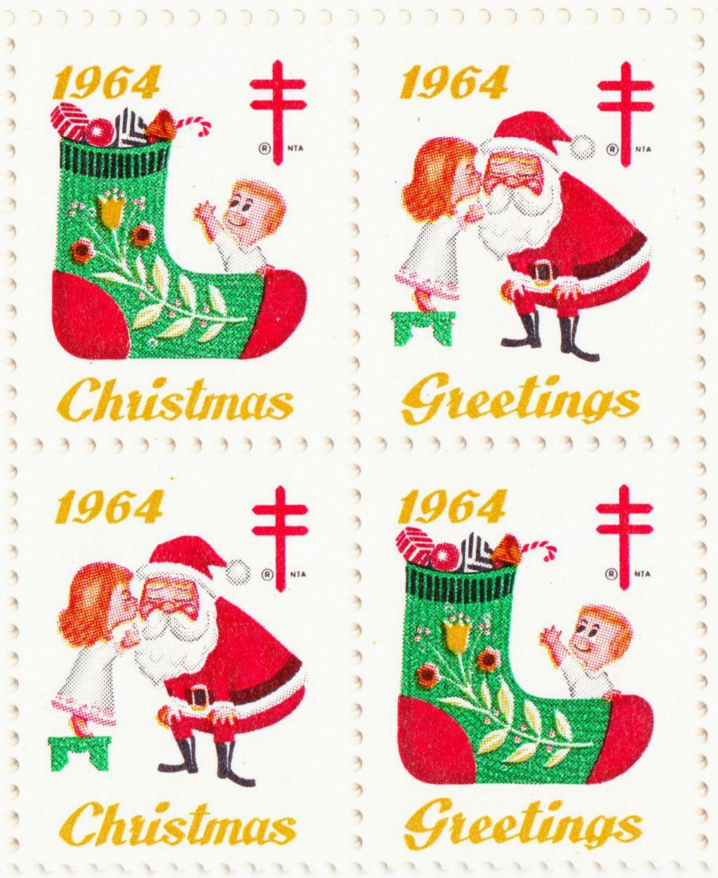 Christmas Seals | Christmas | Pinterest | Vintage christmas, Vintage ...