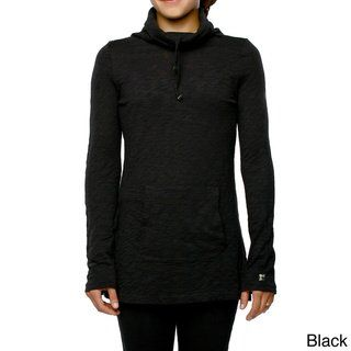 d8626bfe Yoga City Women's 'Seattle' Popover Jacket (XSmall, Black) - Extra Small ( cotton)