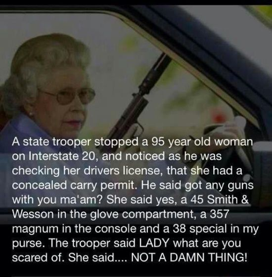 The Right To Bear Arms Supporting The Right To Bear Arms State Trooper Funny Quotes Sayings