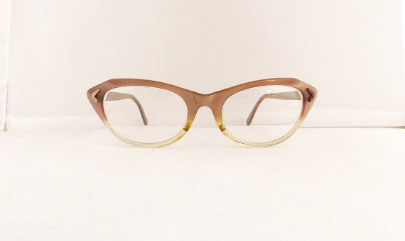 Womens vintage 1950s Marine brand cats eye eyeglasses frames, USA ...