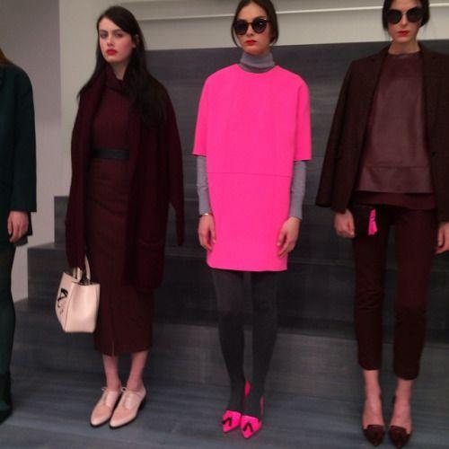instanycphotos:Banana Republic made its debut at New York Fashion Week, touting edgier looks from its new creative director Marissa Webb#bananarepublic#nyfw by adinnocenzio http://bit.ly/1DuBI5o