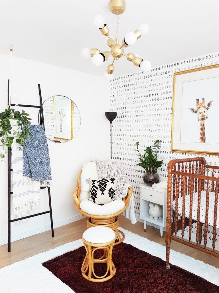 A Bright And Modern Boho Nursery Project