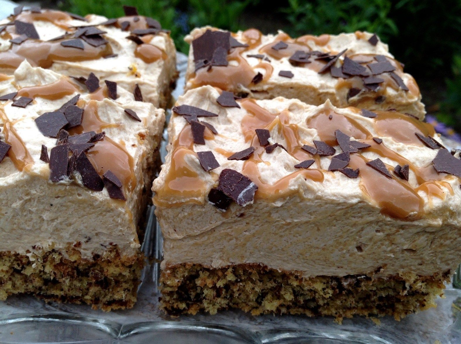 Karamell- Nuss- Kuchen #halloweenkuchen