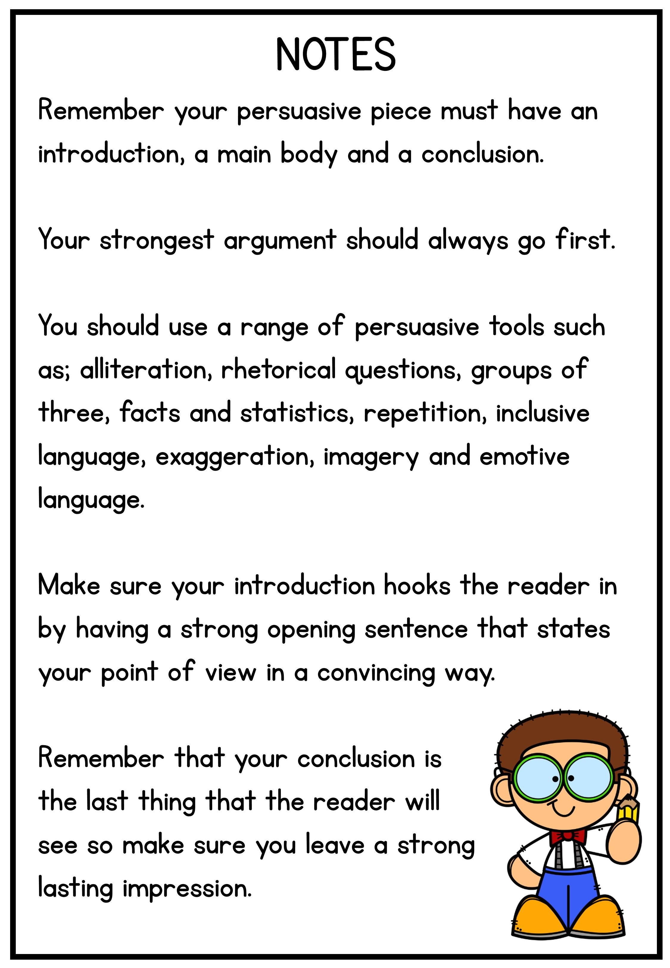 Persuasive Writing Note Sentence Starter And Tool Prompt Introductions Argumentative Essay On Domestic Violence