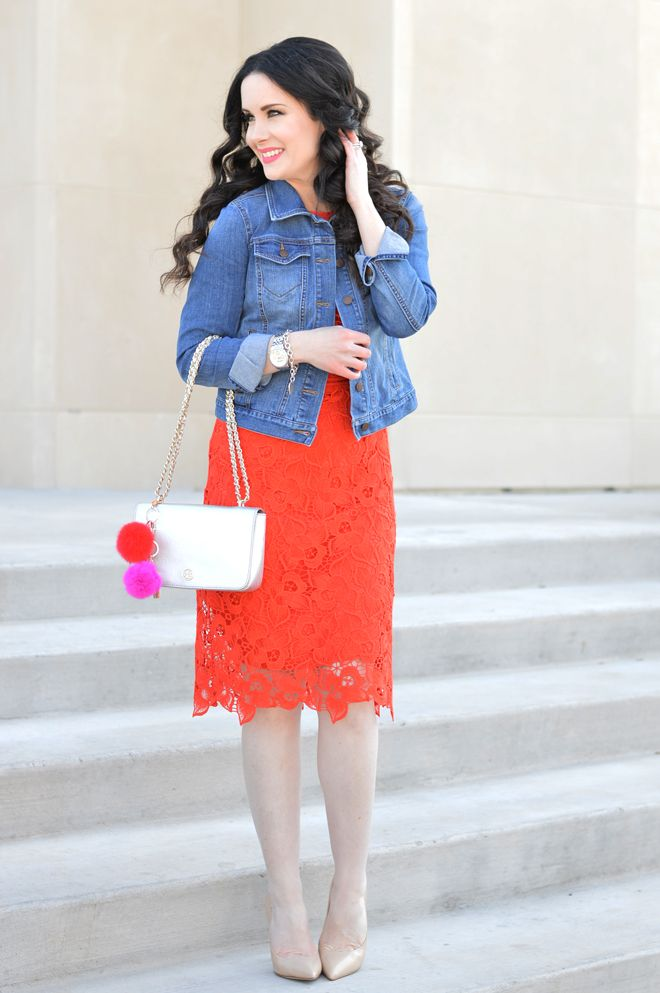 Red Lace Dress | How To Wear All Year Long - The Double Take Girls ...