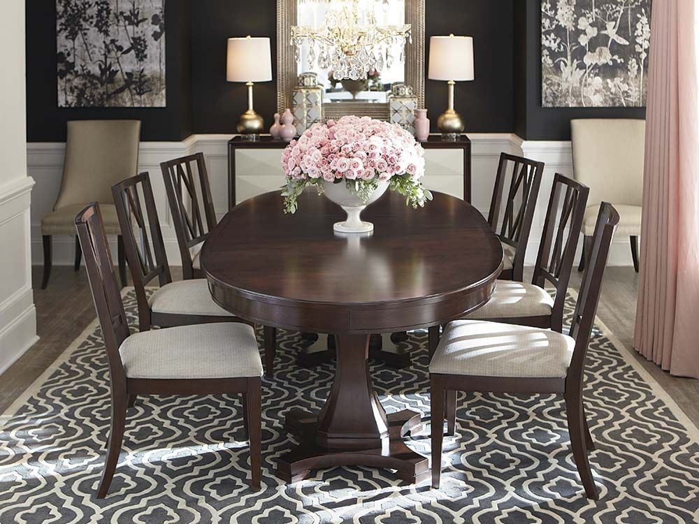 Chestnut Brown Oval Dining Table Oval Dining Room Table Oval Table Dining Dining Room Table Set