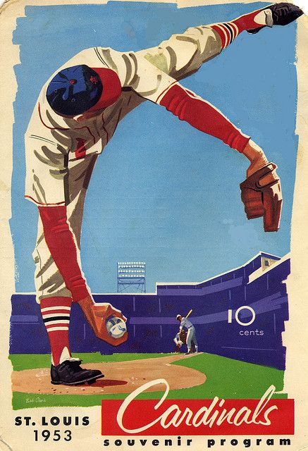 Photo of 1953 Cardinals program front