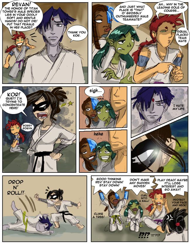 Page 1 | Page 2 | Page 3 I dedicate this comic to all you crazy (but in a good way ;D) Gender Bender fans for the overwhelming favs and comments! Thank you! I read every single comment and I greatl...
