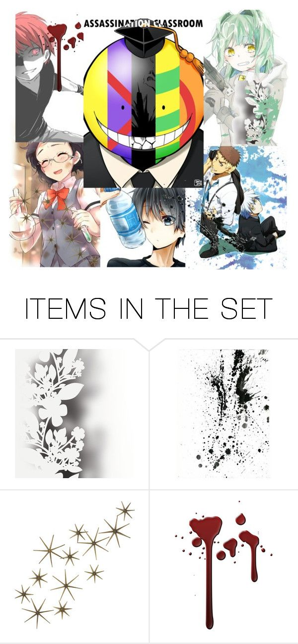 """Assassination Classroom"" by souleater64 ❤ liked on Polyvore featuring art"