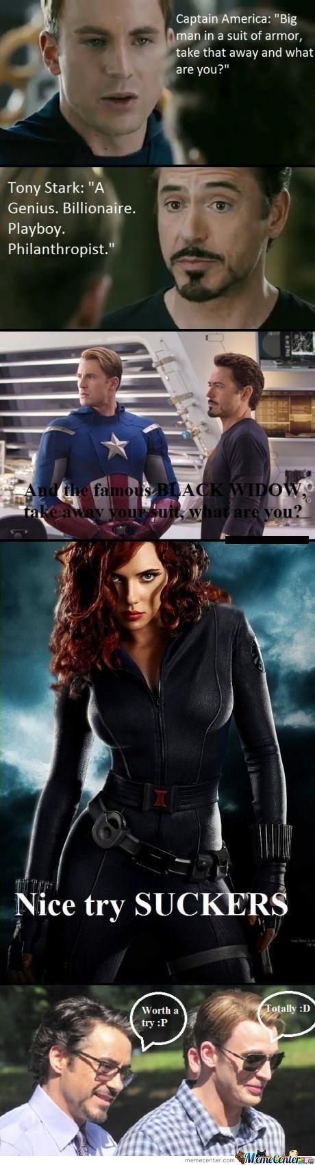 Tony Stark And Captain America Captain America Tony