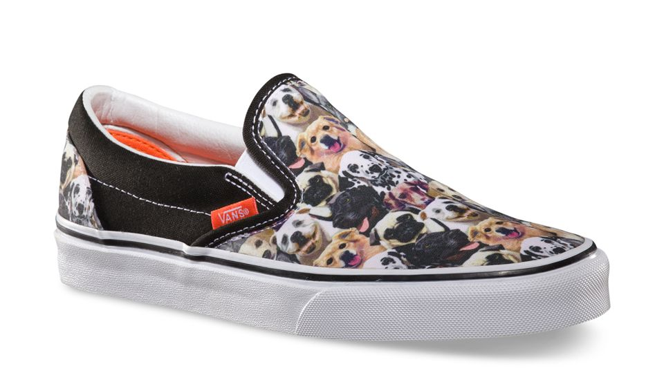3a05979a Dog Vans Slip-ons for ASPCA :) #love | SHOE GAME | Shoes, Sneakers ...