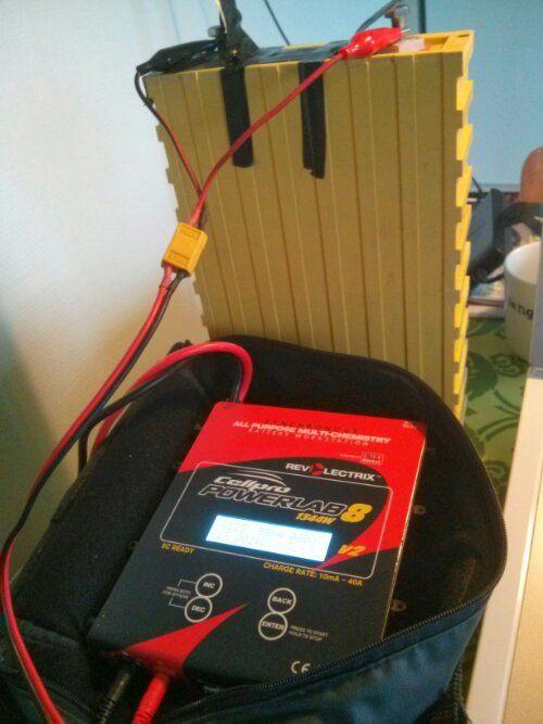 lithium elbils batteriet