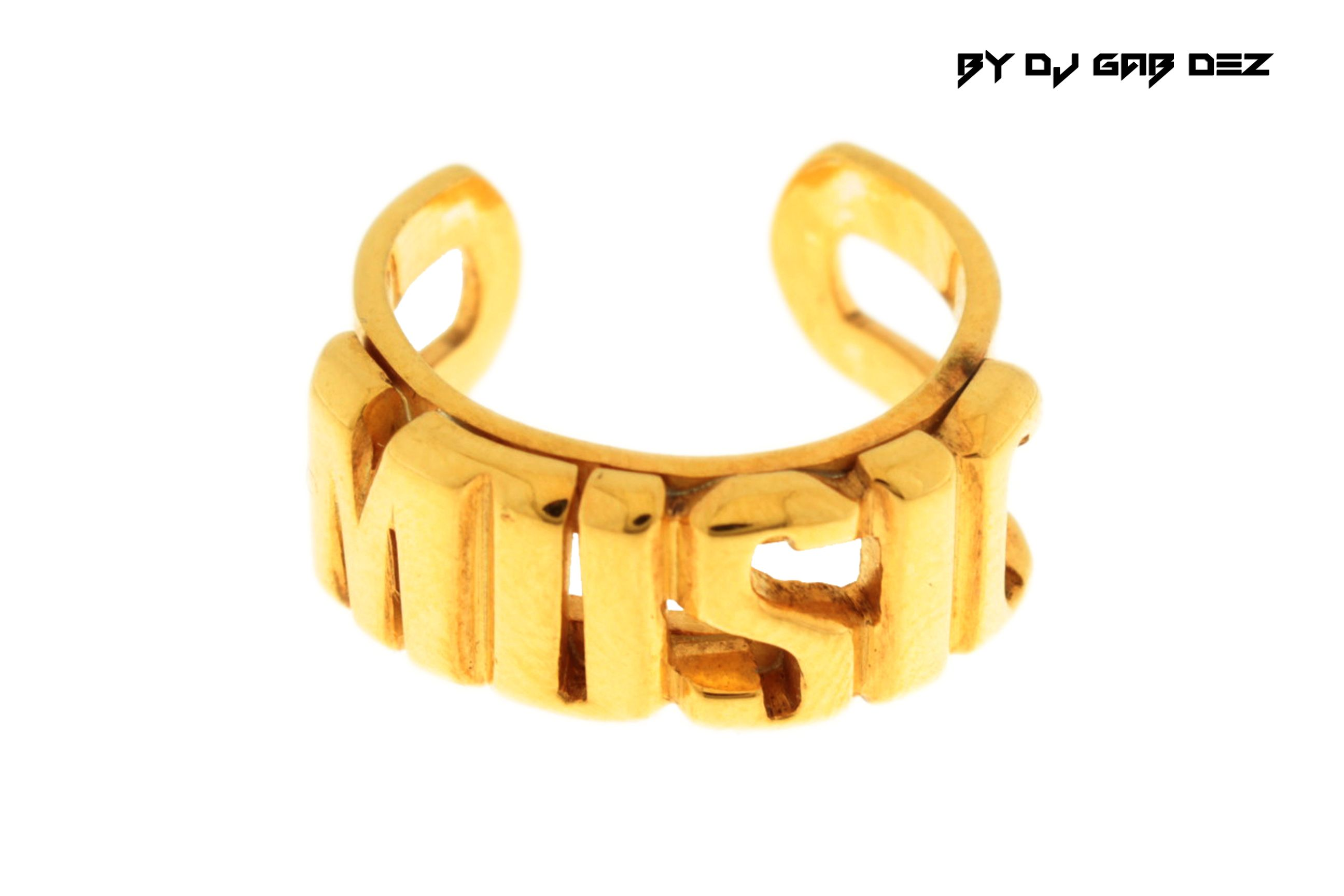 ring wm gold diamond notes jewellery rings music
