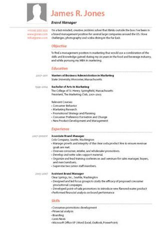 Resume Templates  Creative Graphic Designer And Putting