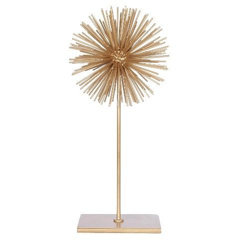 A B Home Decorative Ball On Stand Gold 16 A B Home Wholesale Home Decor Home Decor