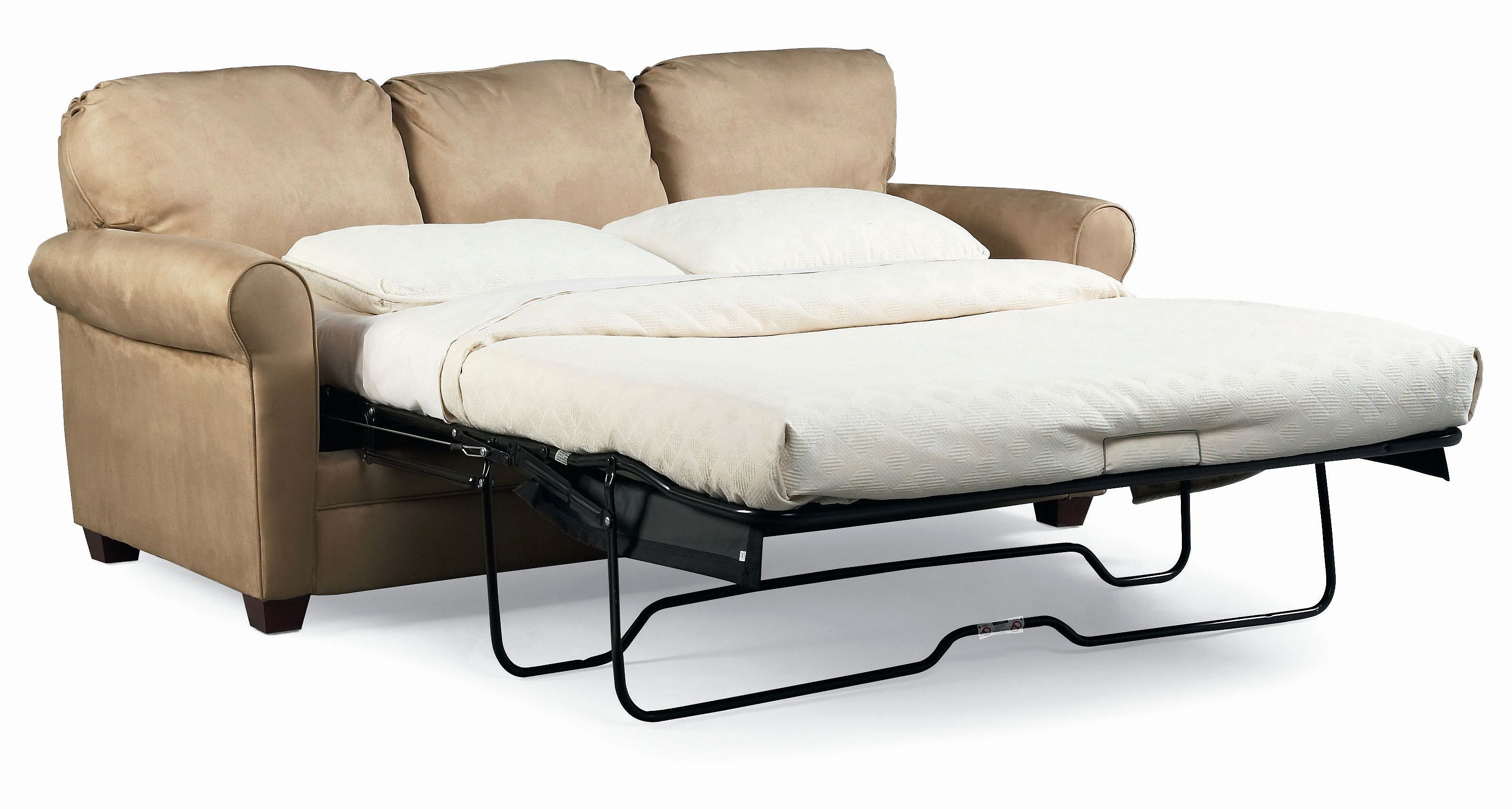 Awesome Leather Queen Sleeper Sofa Pictures White Mattress
