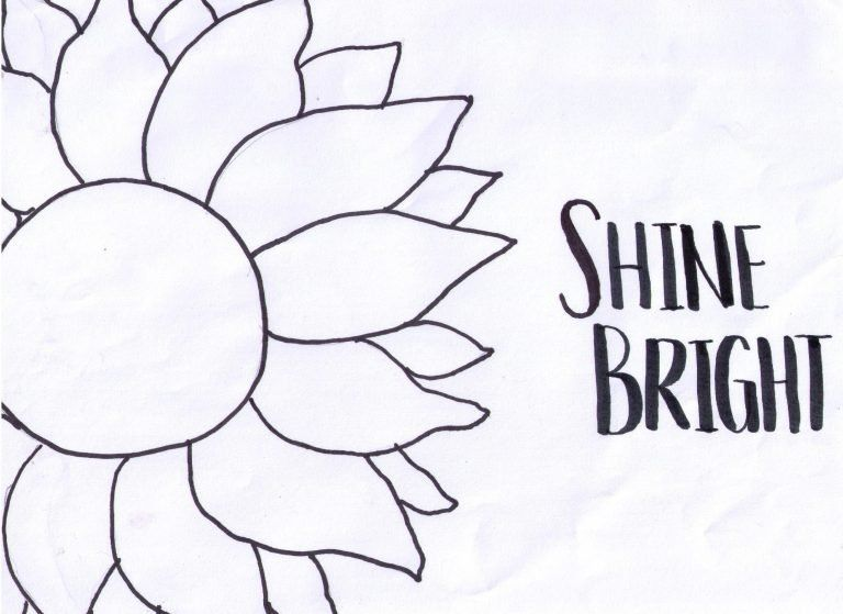 How To Transfer A Drawing From Paper To Canvas In 2020 Sunflower Painting Learn To Paint Easy Flower Painting