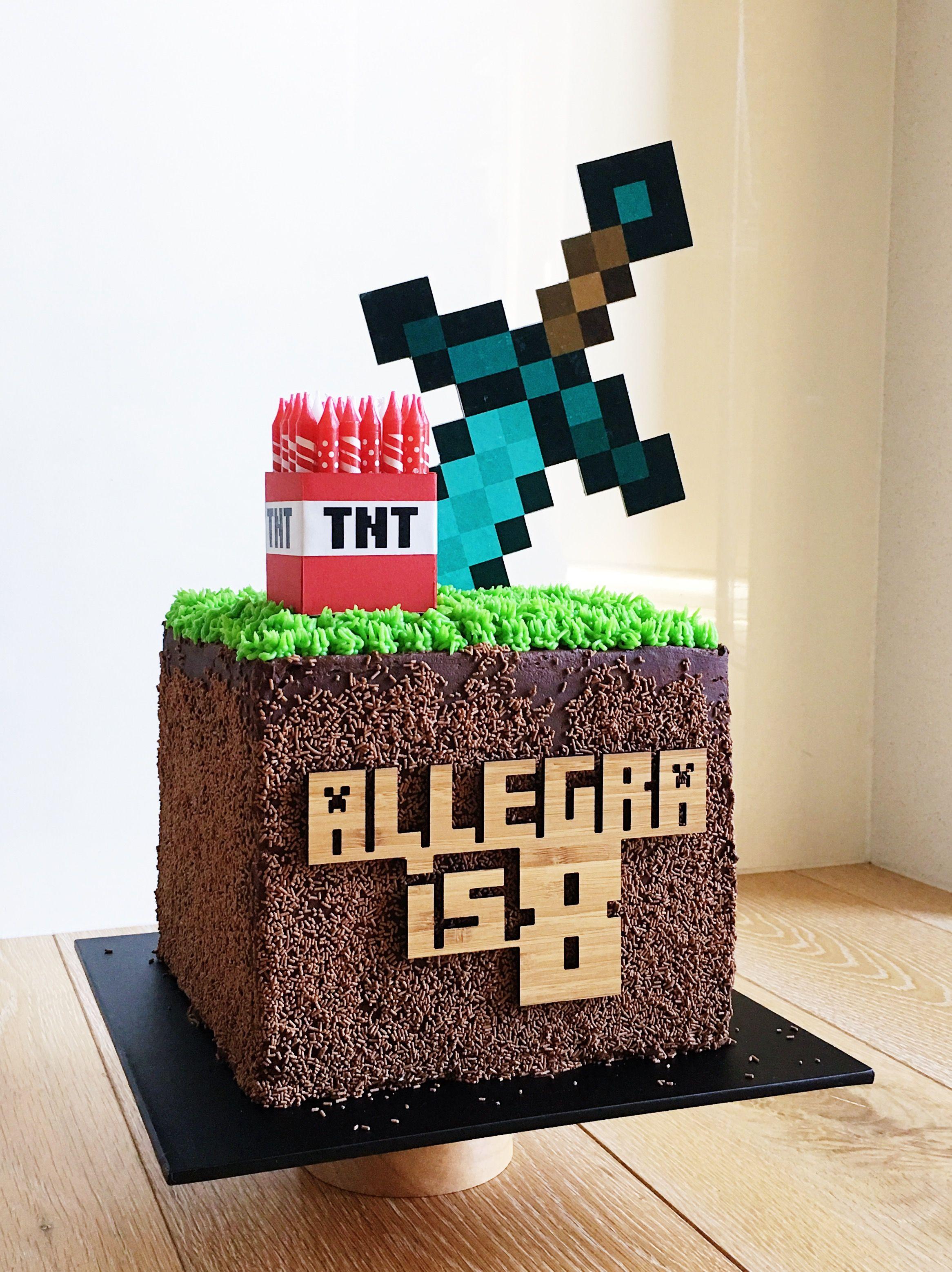 торт в майнкрафт #9