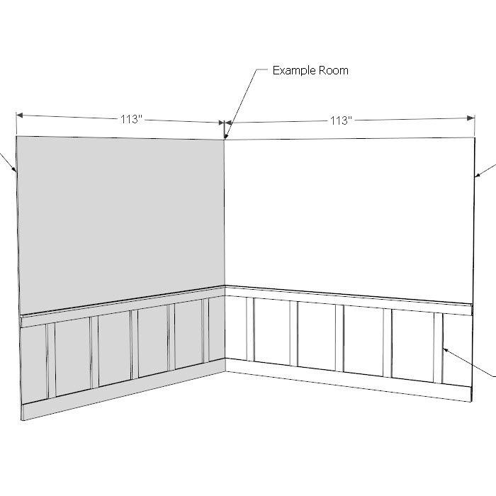 Board Batten Sketchup File Batten Diy Wainscoting Staircase