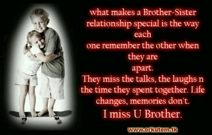 I Miss You Brother Quotes Brother Quotes Sister Quotes
