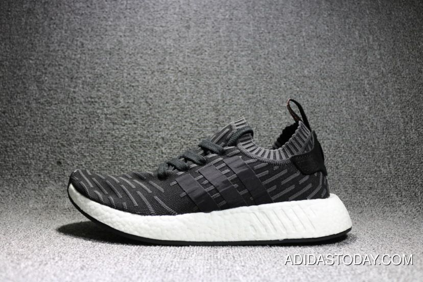 8b97c8a5ca3dff Women Men Super Deals Adidas NMD R2 Primeknit Utility Black Core Black  Running