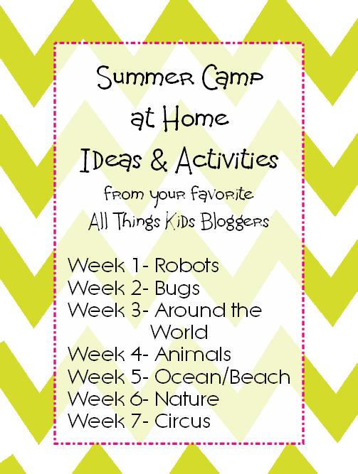 Summer Camp At Home Animal Activities Snacks Summer Summer