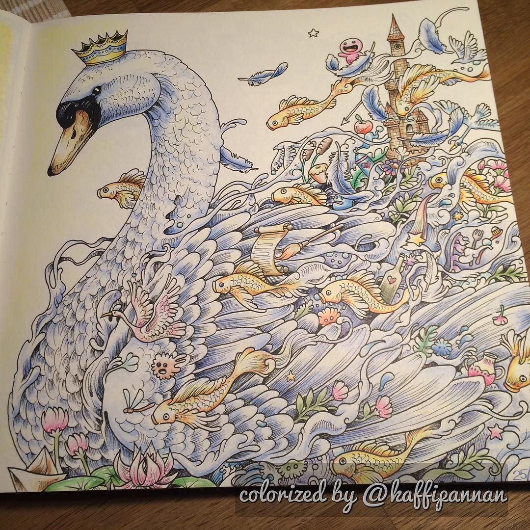 Imagimorphia If Youre In The Market For Best Adult Coloring Books