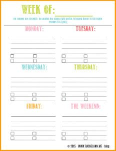 Free weekly planner page download! http://lifeisgoodlivingproof ...