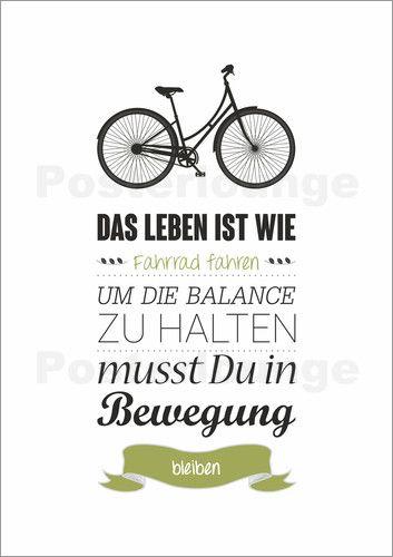 fahrrad sprüche Bernhard Beiergößlein   Das Leben ist wie Fahrrad fahren  fahrrad sprüche