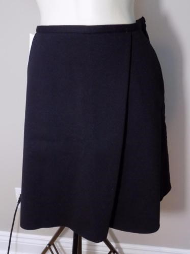35.00$  Buy here - http://vizfi.justgood.pw/vig/item.php?t=w7evno39341 - WILFRED Primevere Black / Grey Viscose Blend Skirt NEW 4 $135 Retail