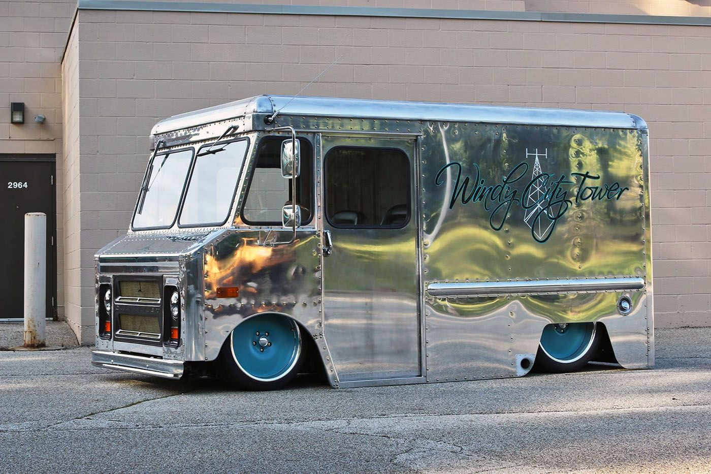 1970 Chevy P10 Van With A Lsx Step Van Bagged Trucks