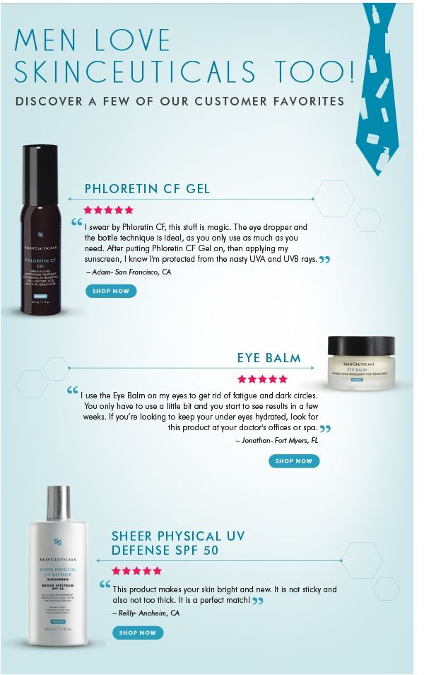 Men Love Skinceuticals Products Too Which Ones Do They Love Most And Why Skinceuticals Skin Care Dermatologist Recommended Skincare