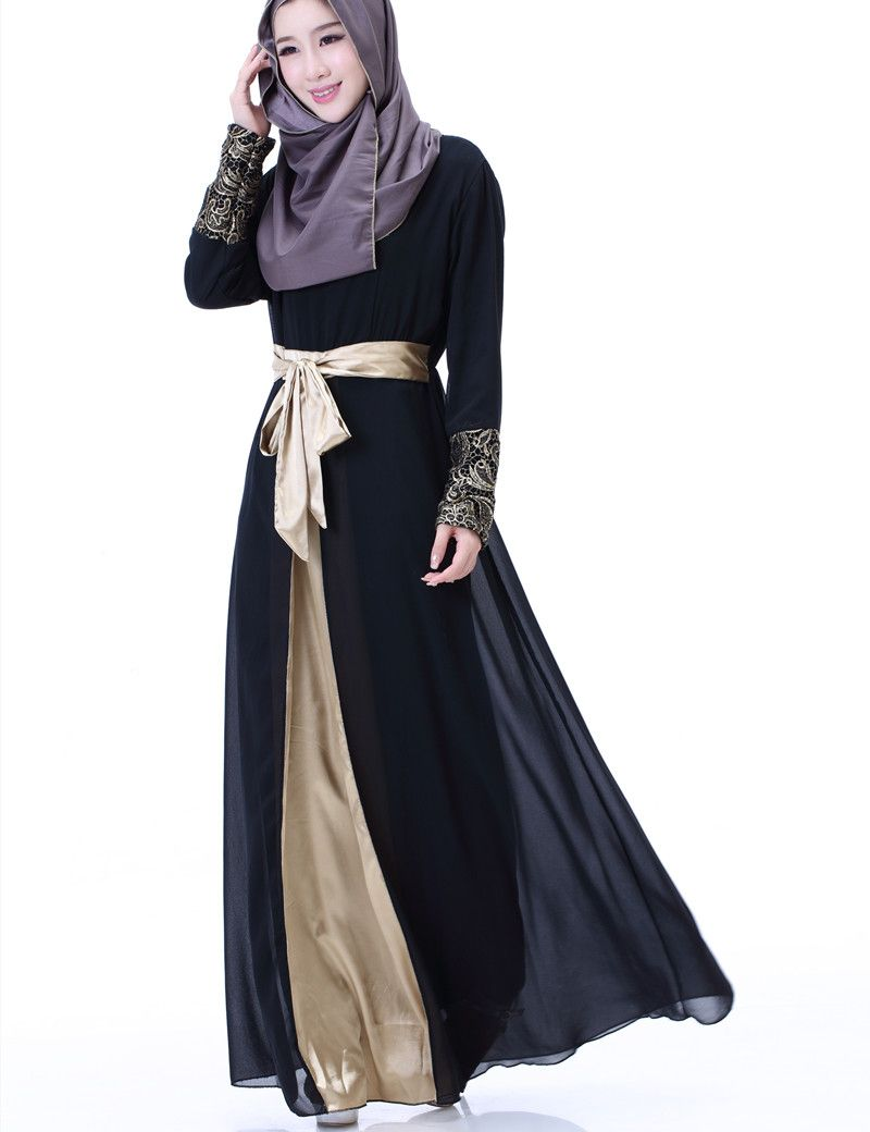 Find More Islamic Clothing Information about 2017 Chiffon Muslim Fashion  islamic abaya dresses for women Dress female saudi indonesia pakistan abaya  for ... f6e3e26649ee