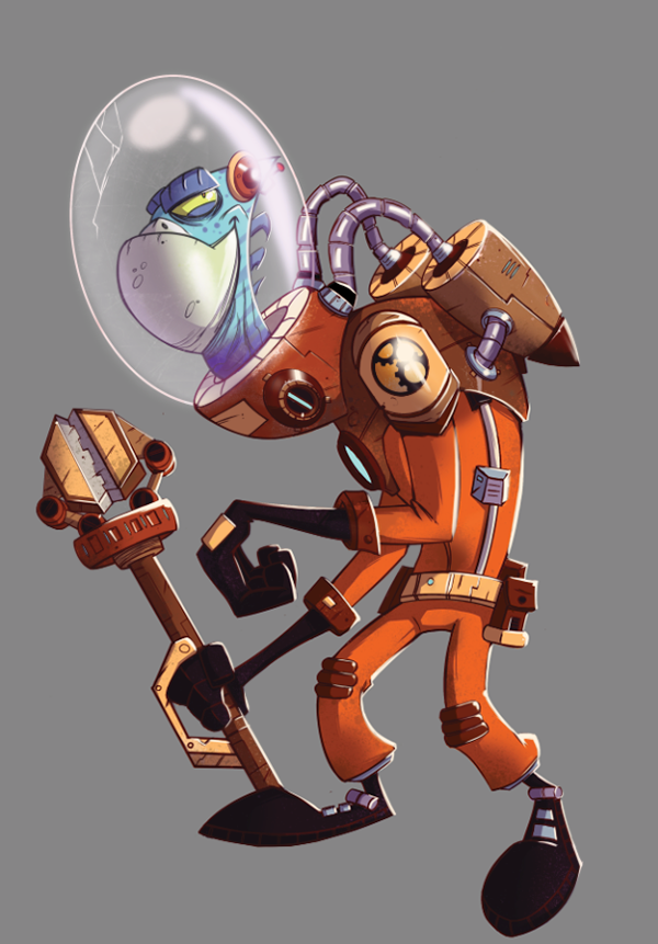 Space Engineer on Behance