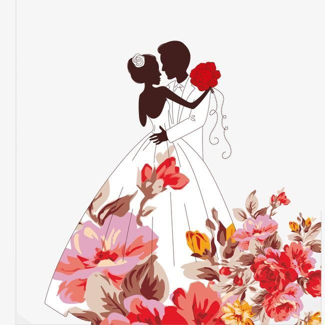 Quadri Per Anniversario Di Matrimonio.Wedding Wedding Clipart Flowers Png Transparent Clipart Image