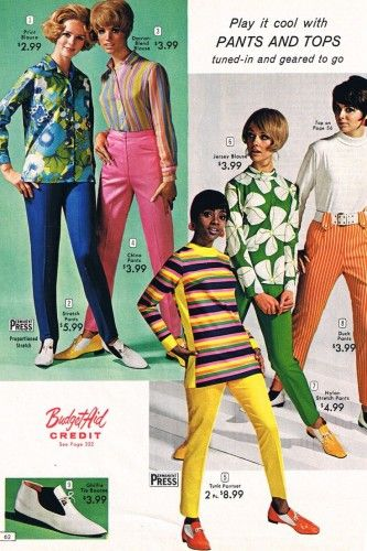0cf3a04a38 1960s Fashion: What Did Women Wear? | 60s 70s fashions featuring Cay ...