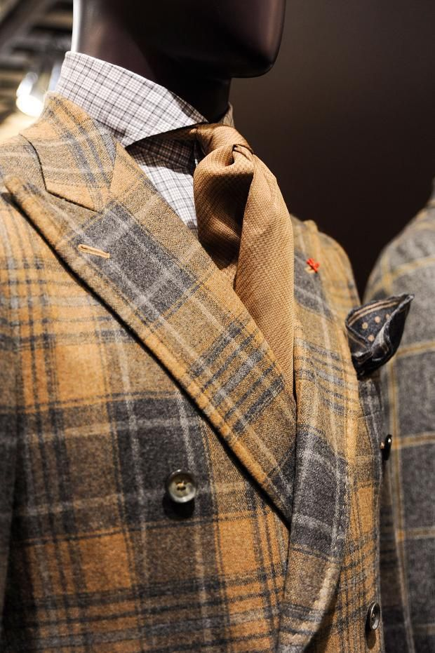 Isaia Men's A/W '15 look book