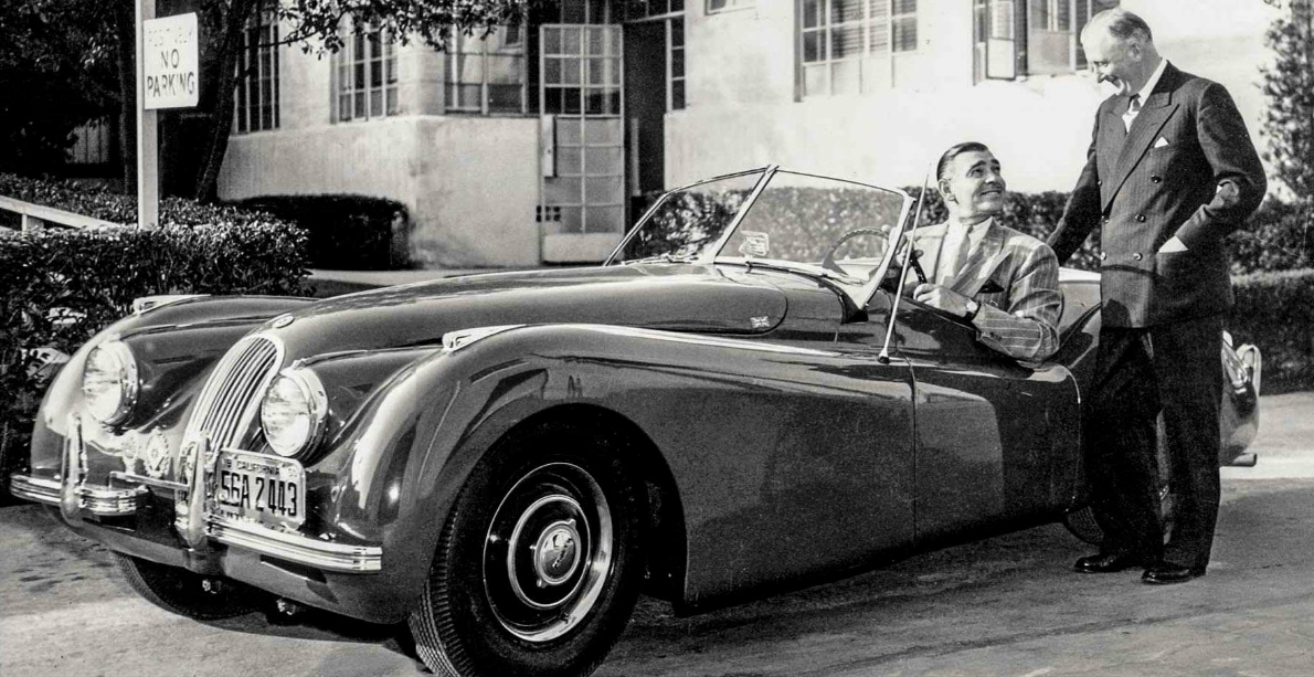 1952 jaguar xk120 roadster clark gable and sir william lyons auto pinterest jaguar xk120. Black Bedroom Furniture Sets. Home Design Ideas