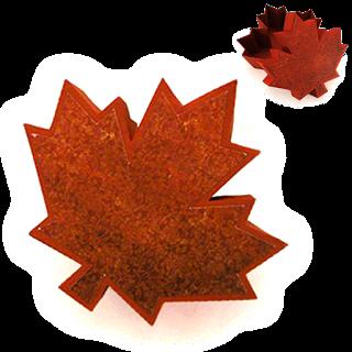 Needles 'n' Knowledge: Maple Leaf 3D Box Tutorial