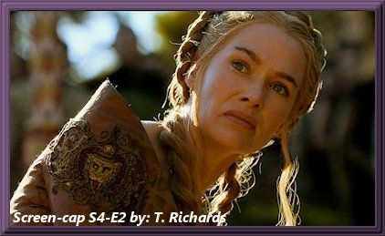 Cersei The Dress For The Purple Wedding Cersei Lannister