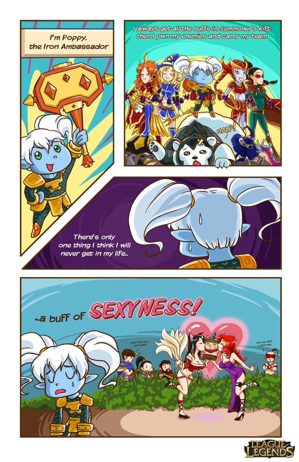 LoL Comic contest by Musettethecat deviantart com on @deviantART