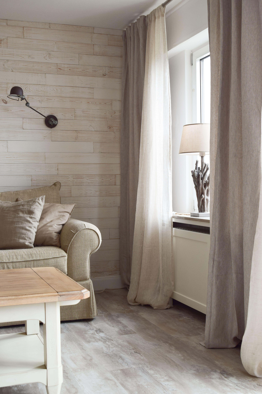 Leinenvorhang Wohnzimmer  Gardinen wohnzimmer modern