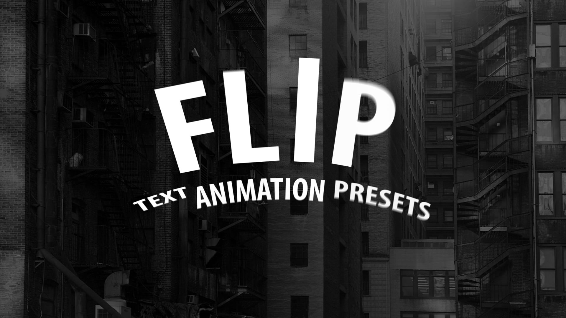 Flip Text Animation Presets for After Effects ...